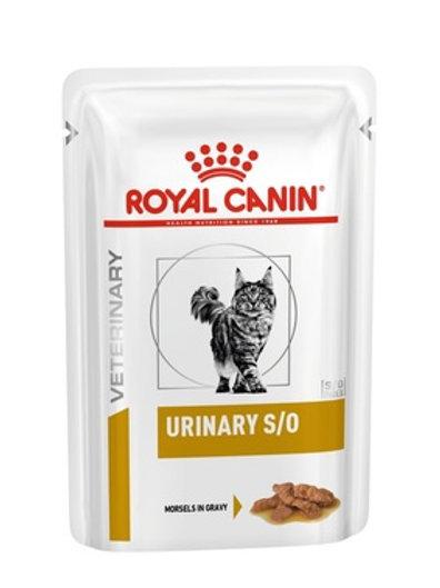 Royal Canin Urinary S/O кусочки в соусе для кошек при профилактике МКБ