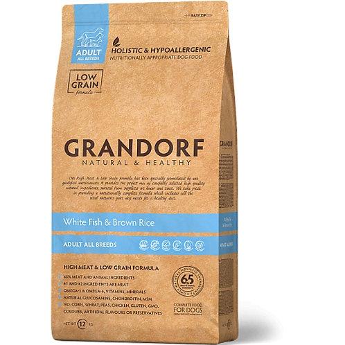 Grandorf White Fish & Rice Adult All Breeds Грандорф Рыба для всех пород