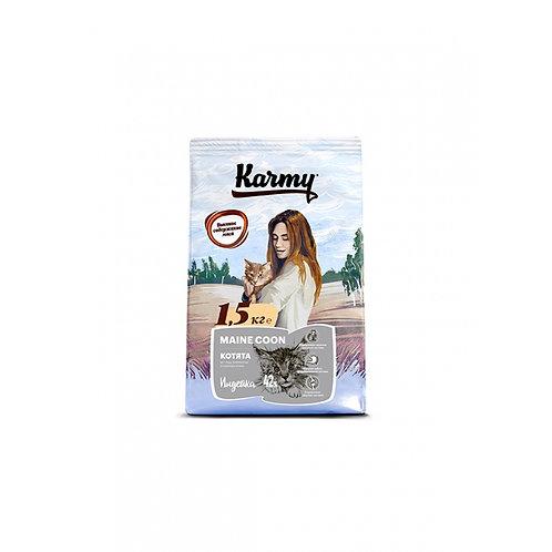 Karmy Main Coon Kitten Корм Сухой корм для котят породы мейн кун, беременных и к