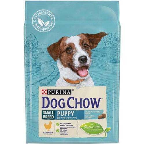 Dog Chow для щенков мелких пород, с курицей