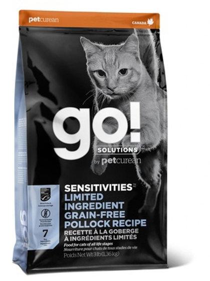GO grain-free pollock cat Гоу беззерновой для котят и кошек с чувствительным пищ