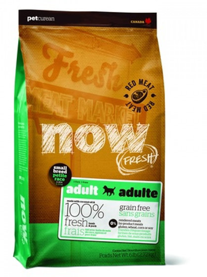 NOW FRESH grain free mini lamb dog НАУ ФРЕШ беззерновой для взрослых собак малых