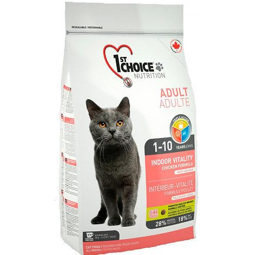 1st Choice Vitality Чойс с куриным мясом для домашних кошек