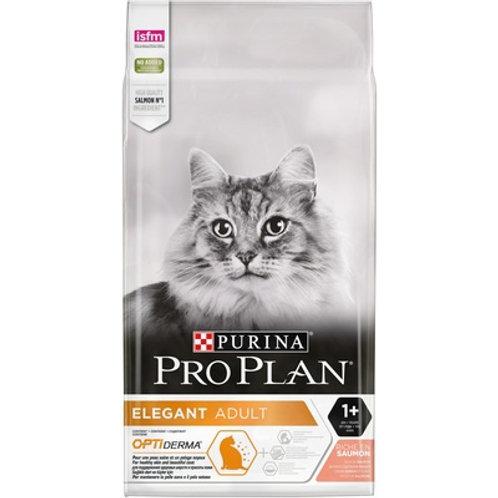 Purina Pro Plan Пурина Про План для шерсти и кожи взрослых кошек, с лососем