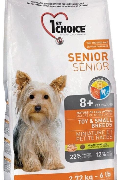 1st Choice Senior сухой корм для пожилых собак миниатюрных и мелких пород (с кур
