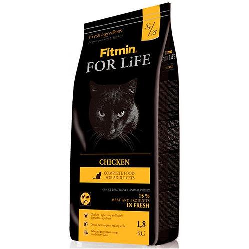 Fitmin For Life Cat Chicken Корм для кошек с курицей