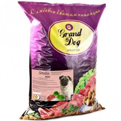 Grand Dog Sensitiv Mini ягненок/рис для мелких пород собак
