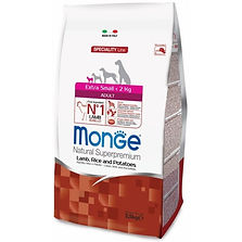 Monge Dog Speciality Extra Small lamb ri