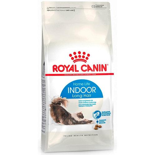 Royal Canin Indoor Long Hair Роял Канин Сухой корм для длинношерстных кошек живу