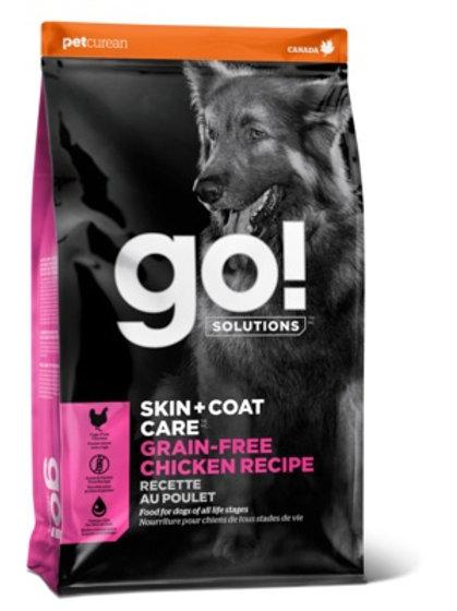 GO grain-free chicken Гоу беззерновой для собак всех возрастов, с цельной курице