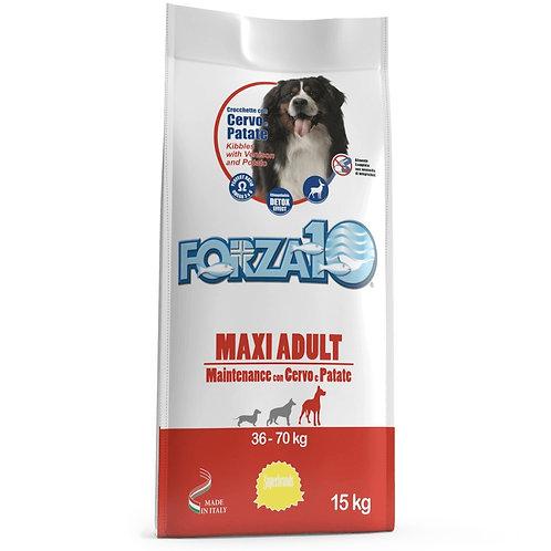Forza10 MAXI ADULT MAINTENANCE c олениной и картофелем