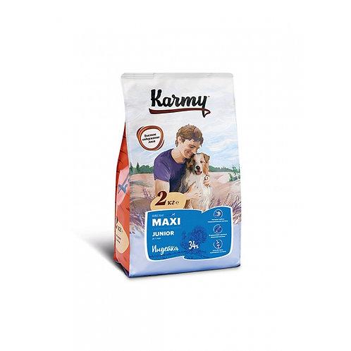Karmy Maxi Junior Карми Сухой корм для щенков крупных пород с индейкой
