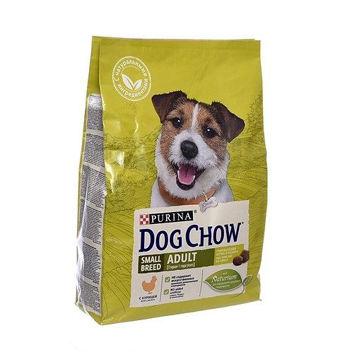 Dog Chow для взрослых собак мелких пород, с курицей