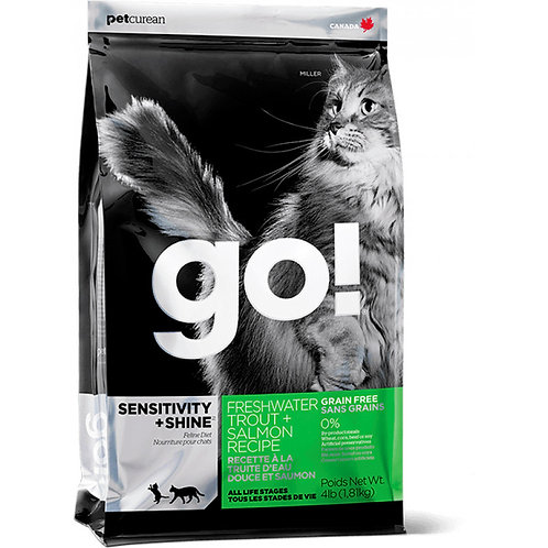 GO grain free  salmon Гоу беззерновой для котят и кошек с чувствительным пищевар