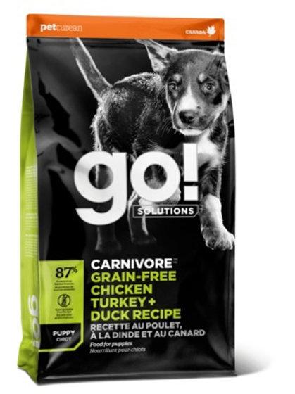 GO grain-free chicken turkey duck Гоу беззерновой для Щенков всех пород 4 вида м