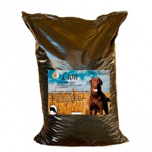 Grand Dog Lion с говядиной для средних и крупных пород
