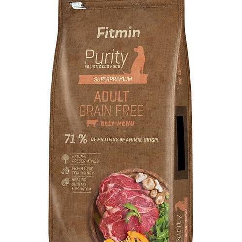 Fitmin Purity adult beef беззерновой корм для взрослых собак с говядиной