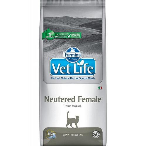Farmina Vet Life Neutered Female Сухой корм для стерилизованных кошек