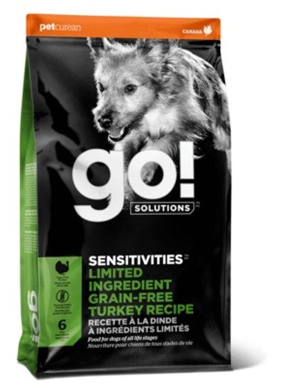 GO sensitivities turkey grain-free Гоу беззерновой для щенков и собак, с индейко