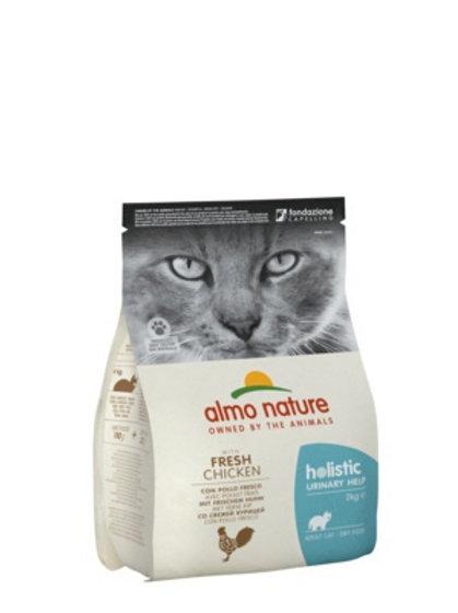 Almo Nature для взрослых кошек для профилактики мочекаменной болезни курица