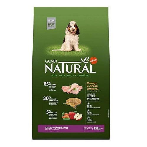 Guabi Natural Puppies Medium Breeds щенки средних пород цыпленок рис