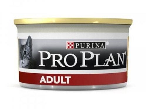 Purina Pro Plan для взрослых кошек, с высоким содержанием курицы, паштет