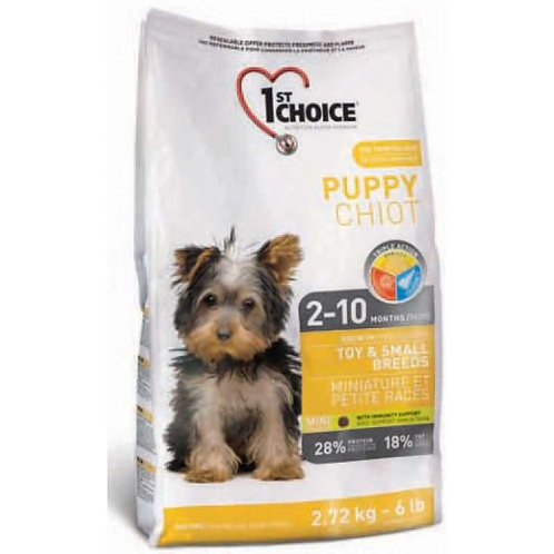 1st Choice Puppy сухой корм корм для щенков миниатюрных и мелких пород (с курице