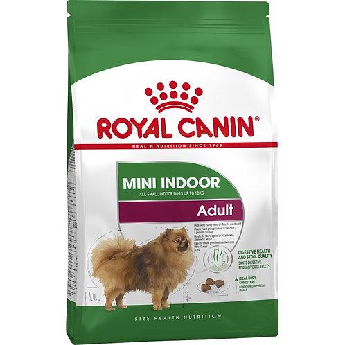 Royal Canin Mini Indoor Adult  для собак мелких пород живущих в помещении
