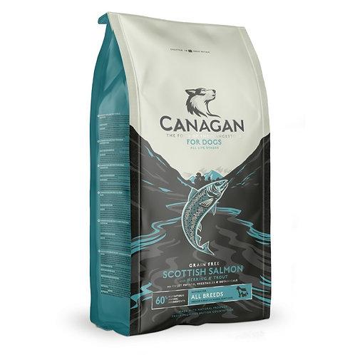 Canagan GF Scottish Salmon Корм для собак всех пород с лососем