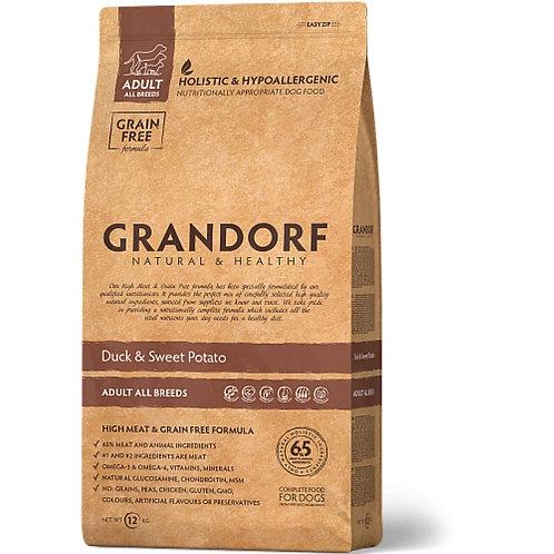 Grandorf Duck & Potato Adult All BreedsГрандорф утка картофель