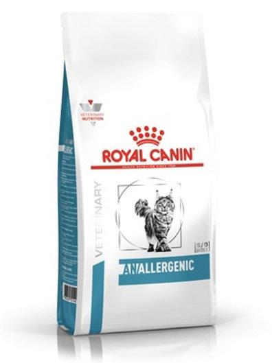 Royal Canin allergenic для кошек при пищевой аллергии с острой непереносимостью