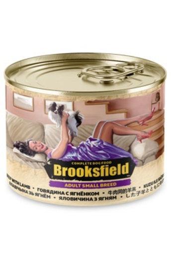 Brooksfield корм для собак малых пород, с ягнёнком и рисом