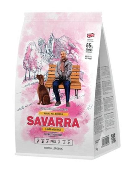 Savarra гипоаллергенный для взрослых собак всех пород, с ягнёнком и рисом