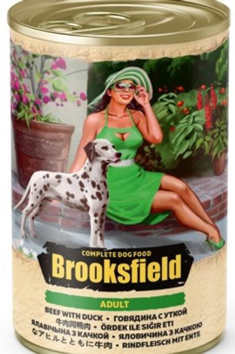 Brooksfield корм для собак, с говядиной, уткой и рисом