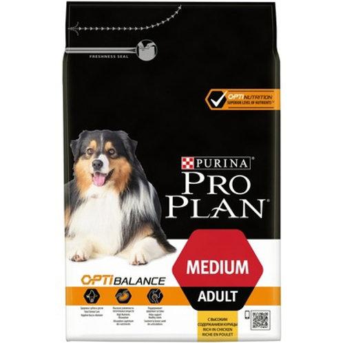 Purina Pro Plan Пурина Про План для взрослых собак средних пород курица и рис