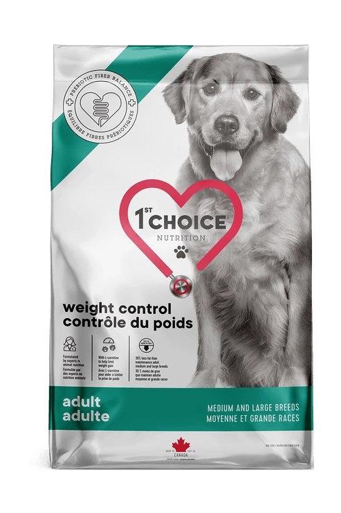 1St Choice Weight Control Medium and Large Breeds - Сухой корм для собак средних