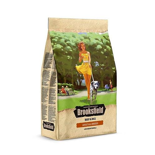 Brooksfield Adult All Breeds Beef & Rice корм для собак с говядиной и рисом