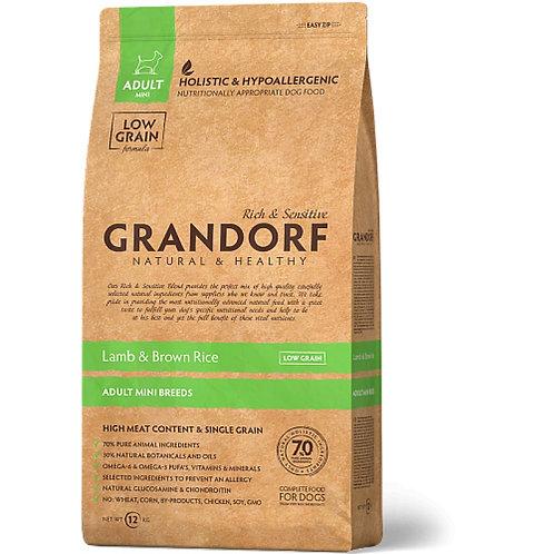 Grandorf Lamb & Rice Adult Mini Гранндорф мелкие породы ягненок