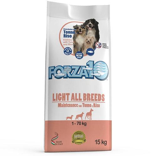 FORZA10 LIGHT ALL BREEDS MAINTENANCE для всех пород склонных к ожирению с тунцом