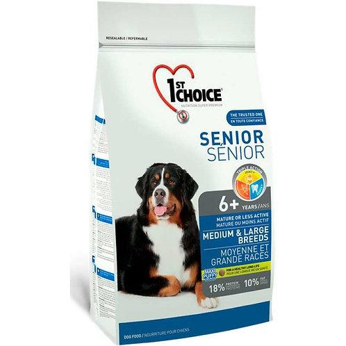 1st Choice Senior сухой корм для пожилых собак средних и крупных пород (с курице