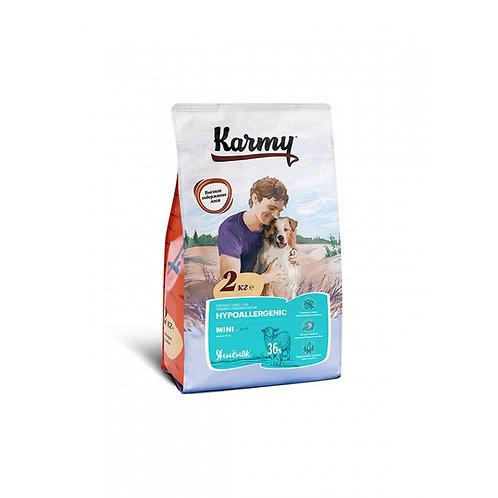 Karmy Hypoallergenic Mini Карми корм для собак мелких пород, склонных к пищевой