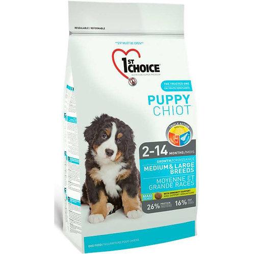 1st Choice Puppy сухой корм для собак средних и крупных пород (с курицей)