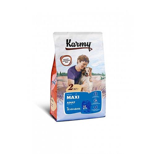 Karmy Maxi Adult Карми Сухой корм для собак крупных пород с телятиной