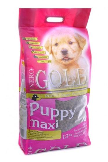 NERO GOLD super premium для щенков крупных пород, с курицей и рисом