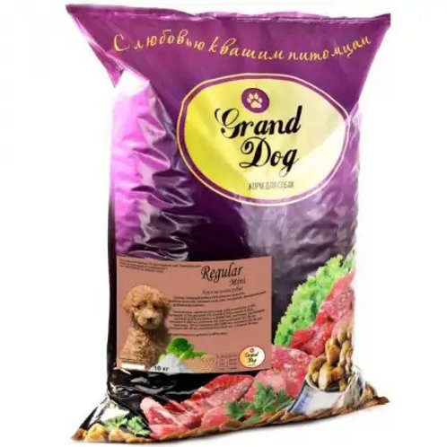 Grand Dog Regular Mini на основе рубца для собак мелких пород от года