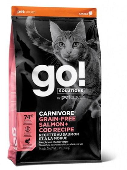 GO grain-free salmon cod cat беззерновой корм для котят и кошек, с лососем и тре