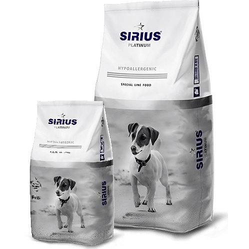 SIRIUS СИРИУС Сухой корм для взрослых собак Малые породы индейка с овощами