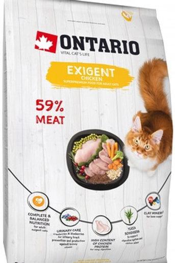 Ontario для особо требовательных кошек, с курицей