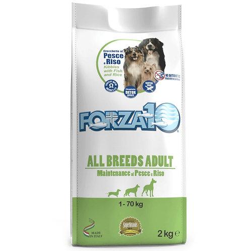 Forza10 ALL BREEDS ADULT MAINTENANCE для всех пород из рыбы с рисом
