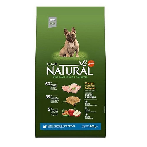 Guabi Natural Adult dog's Miniature and Small Breeds мелкие пор. цыпленок рис